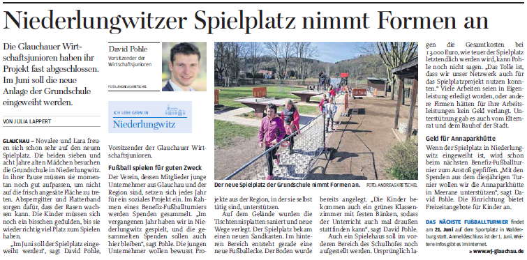 Zeitungsartikel Ndlw.